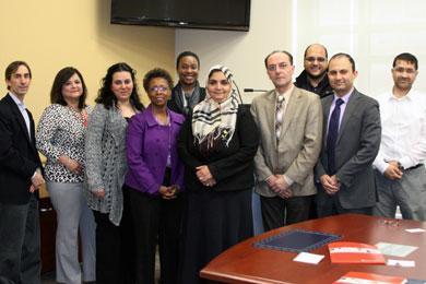 SOP Hosts Representatives from the Saudi Arabian Cultural Mission
